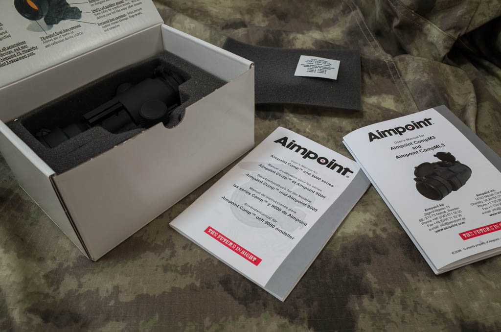 Aimpoint PRO Packaging