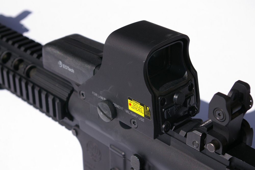 EOTech 512 Attached To AR