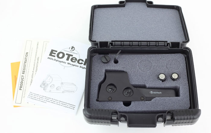 EOTech 512 Packaging