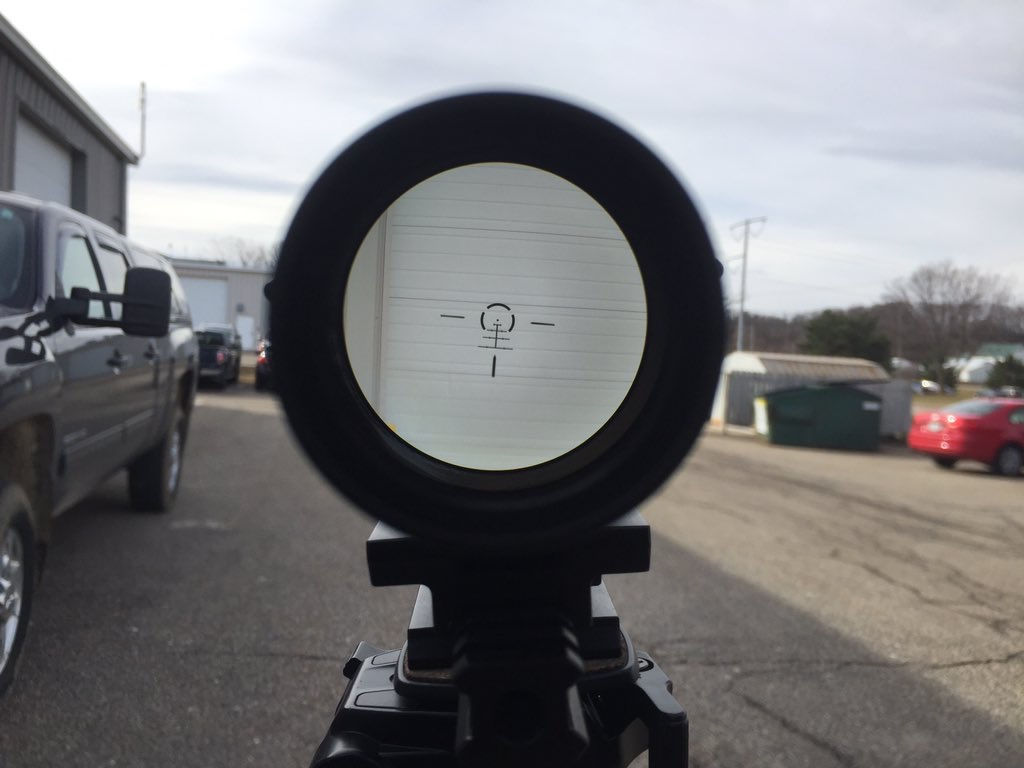 Vortex Optics Strike Eagle 1-8x Reticle