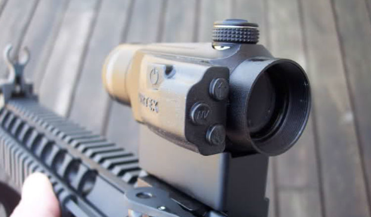 Vortex Optics Sparc II Attached To a Rifle